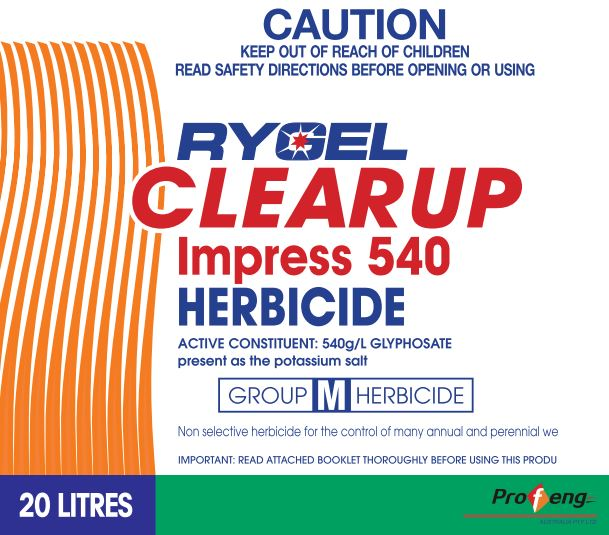 Rygel Clearup Impress 540 Herbicide